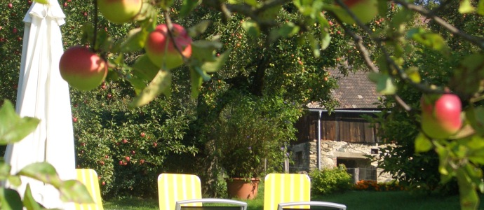 Erlebnis Haus Spiess - Maltschacher See - Der ist groß, der den Früchten des Gartens treu ist.