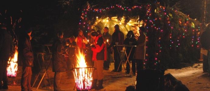 Erlebnis Haus Spiess - Maltschacher See - So kommen sie am besten zum Silvesterpfad 2011